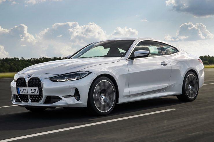 BMW 4-Series 2021 года: новое купе серии G22