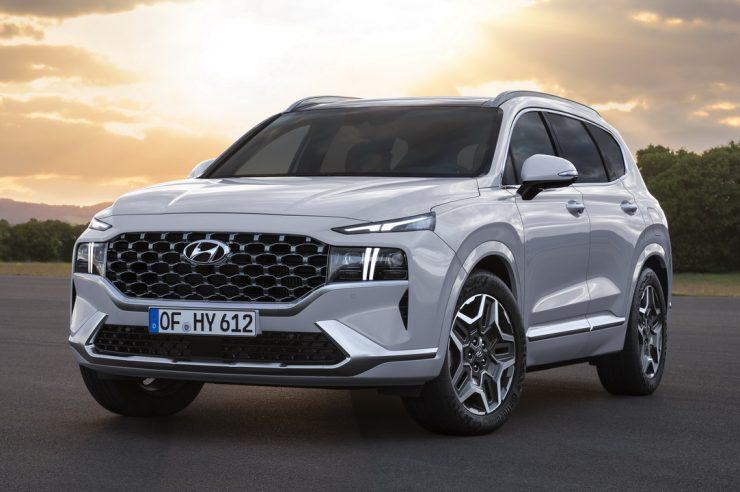 Hyundai Santa Fe 2021: масштабный рестайлинг модели