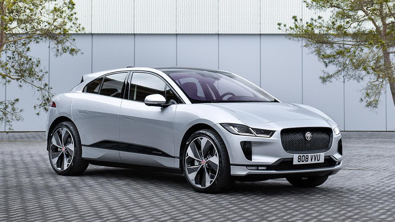 Фото Jaguar I-Pace 2021