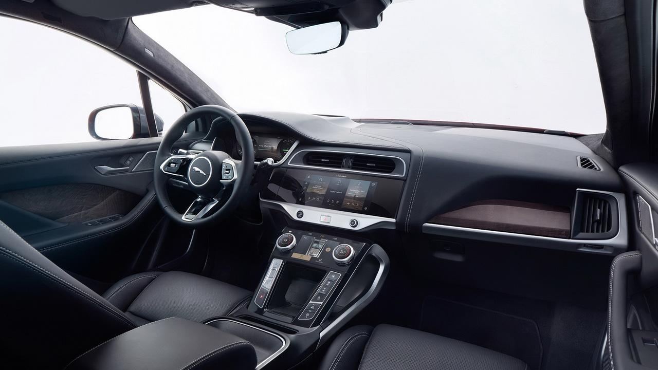 Фото салона Jaguar I-Pace 2020