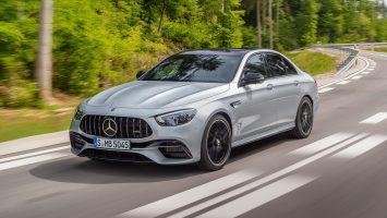 Mercedes-AMG E 63 2021: фото и цена модели после рестайлинга