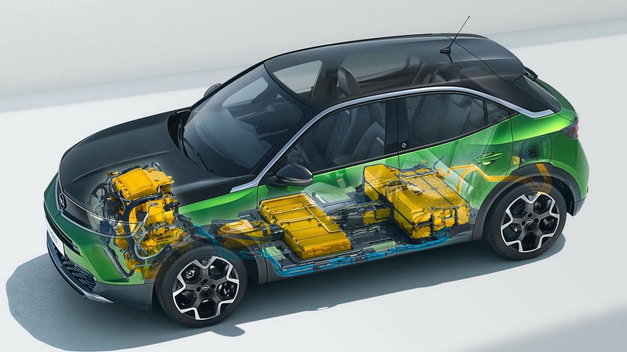 Техника Opel Mokka-e 2021