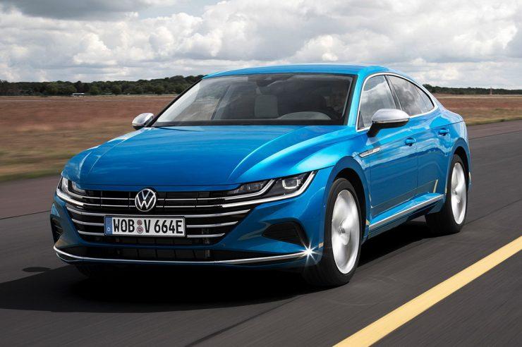 Новый Volkswagen Arteon 2021: кузов универсал и гибридная версия