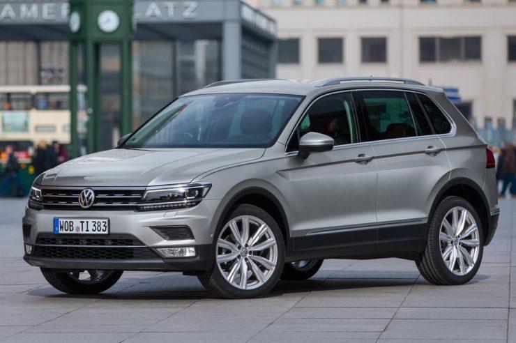 Регламент ТО для Volkswagen Tiguan 2