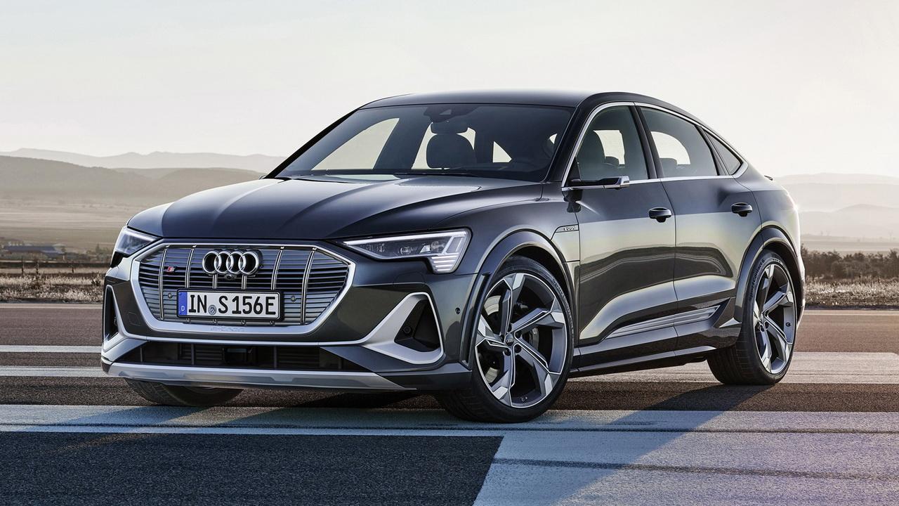 Фото Audi e-tron S Sportback