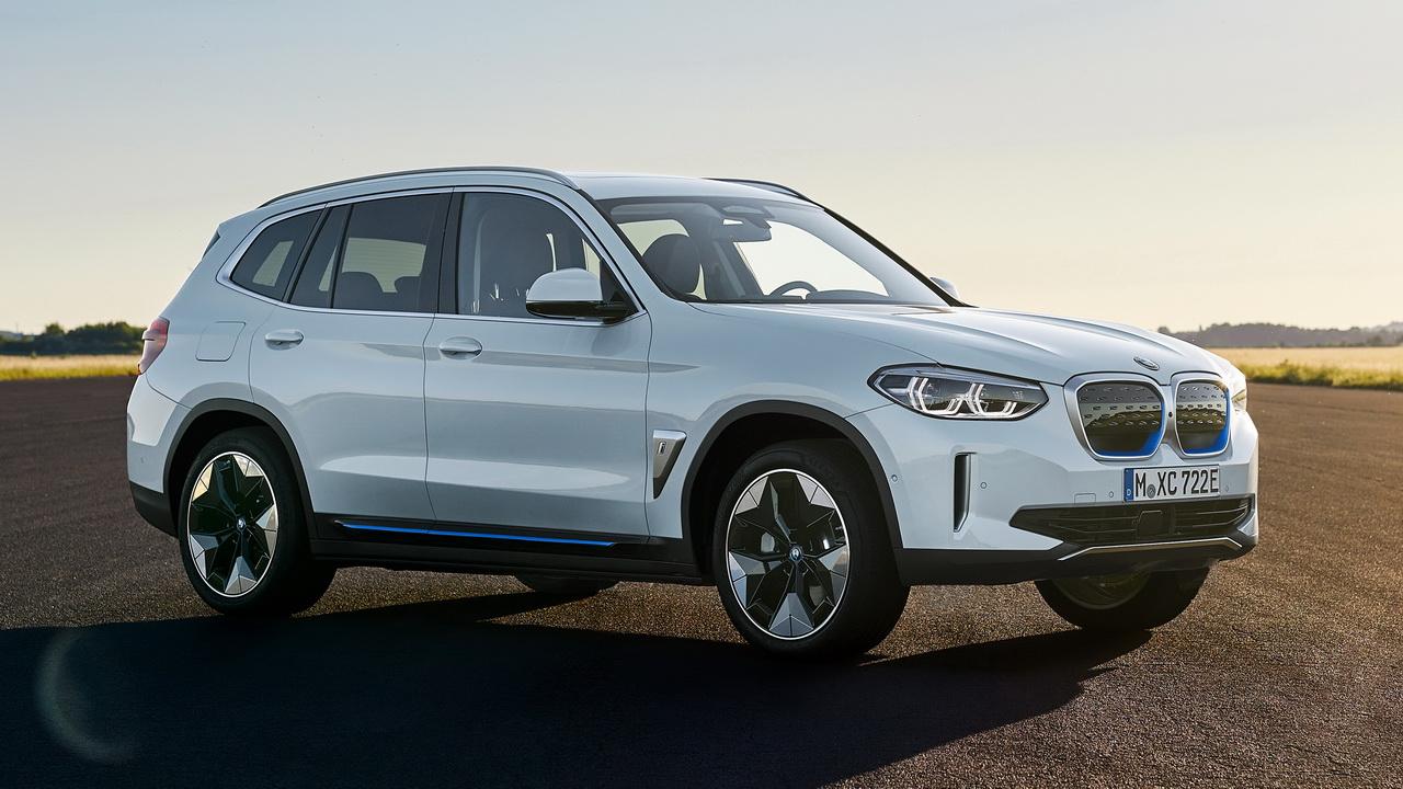 Фото BMW iX3 2021 дизайн кузова