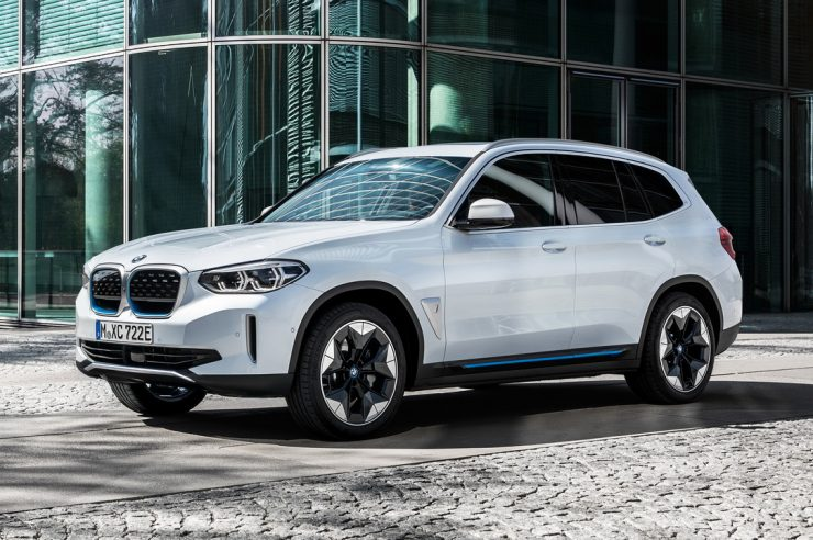 Кроссовер BMW iX3 2021: запас хода 460 км и только задний привод
