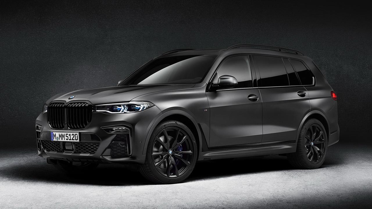 Фото BMW X7 Dark Shadow Edition 2021