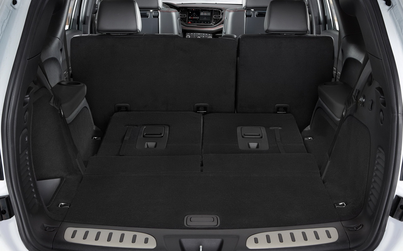 Багажник нового Дюранго