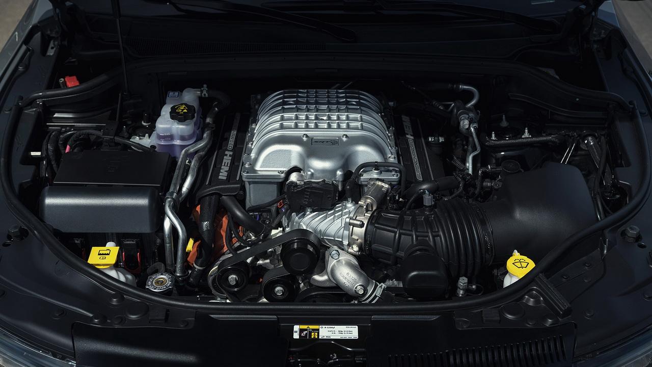Мотор Hemi V8 6.2