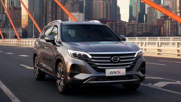 GAC GS5 2020: третья модель бренда GAC в России