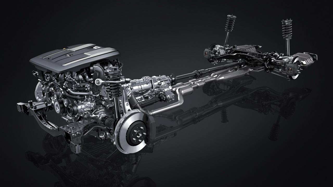 Техника Lexus LS 500