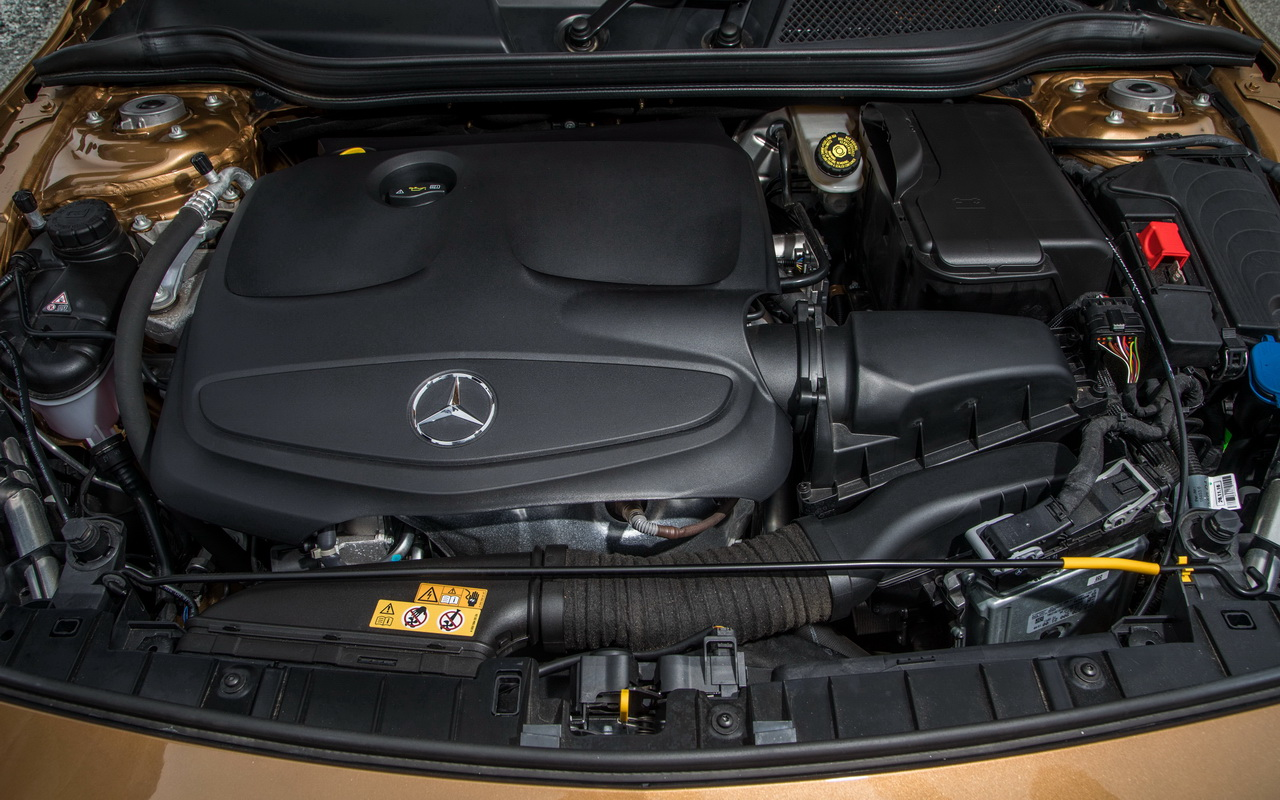 Двигатель Mercedes GLA 250 4Matic