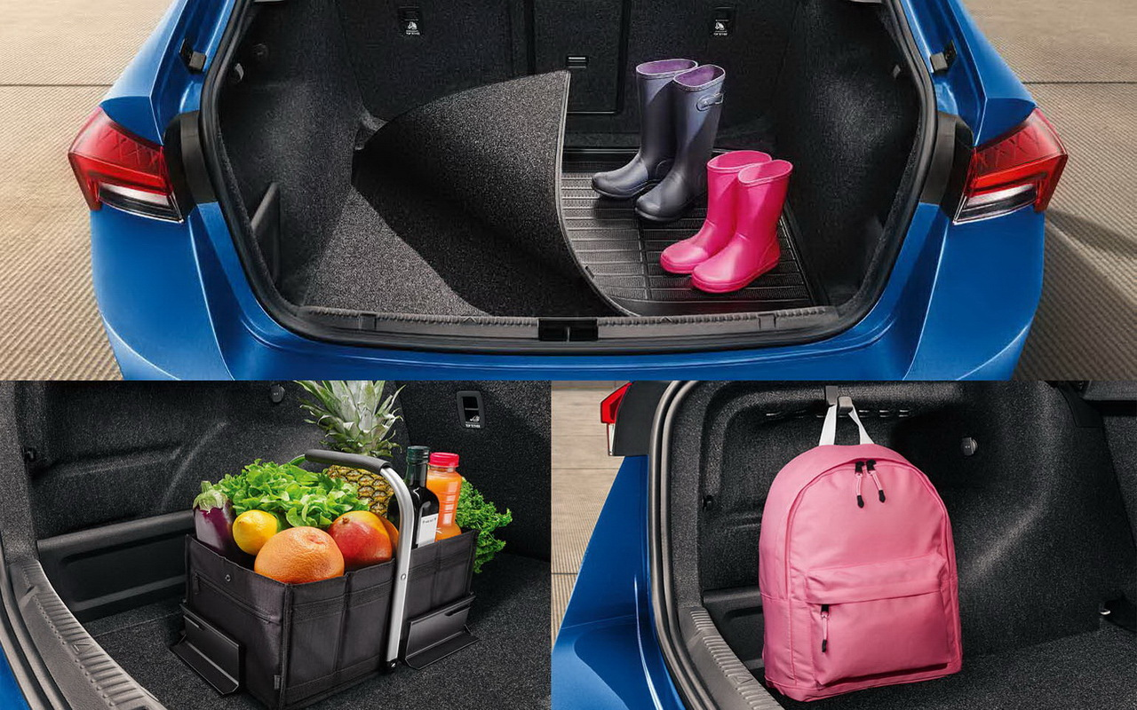 Багажник нового Рапида