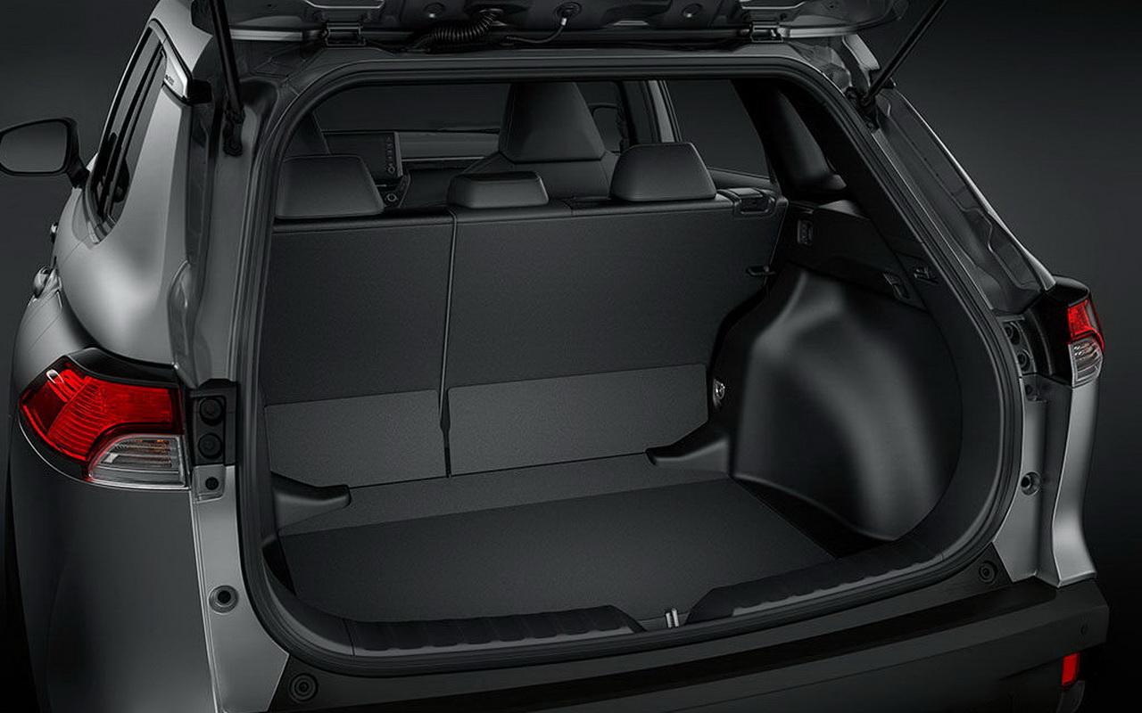 Багажник нового Corolla Cross 2021