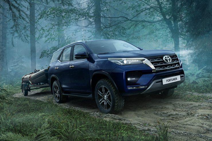 Новый Toyota Fortuner 2020: цена модели в России