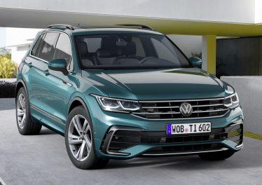 Volkswagen Tiguan 2021: рестайлинг «второго» Тигуана