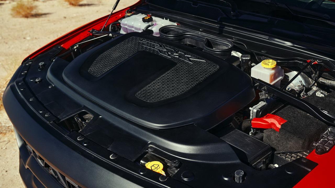 Двигатель Hemi V8 6.2