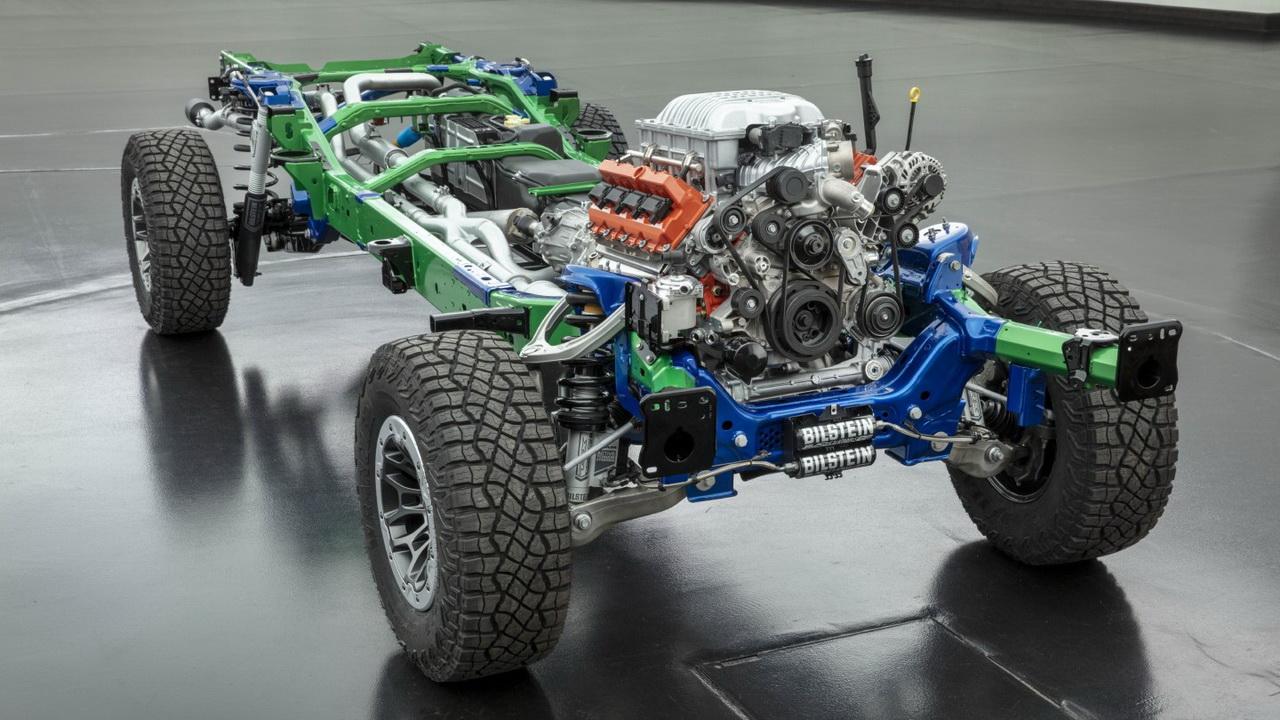Шасси Ram 1500 TRX 2021