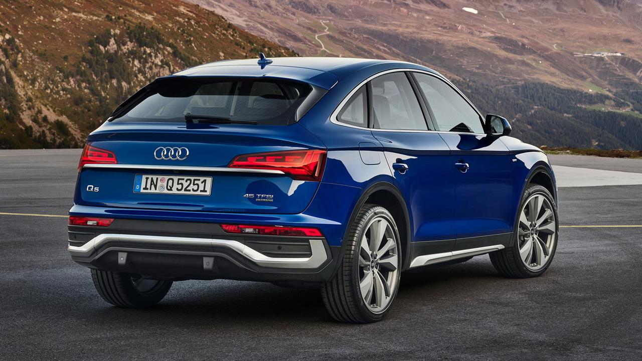 Дизайн кормы Audi Q5 Sportback