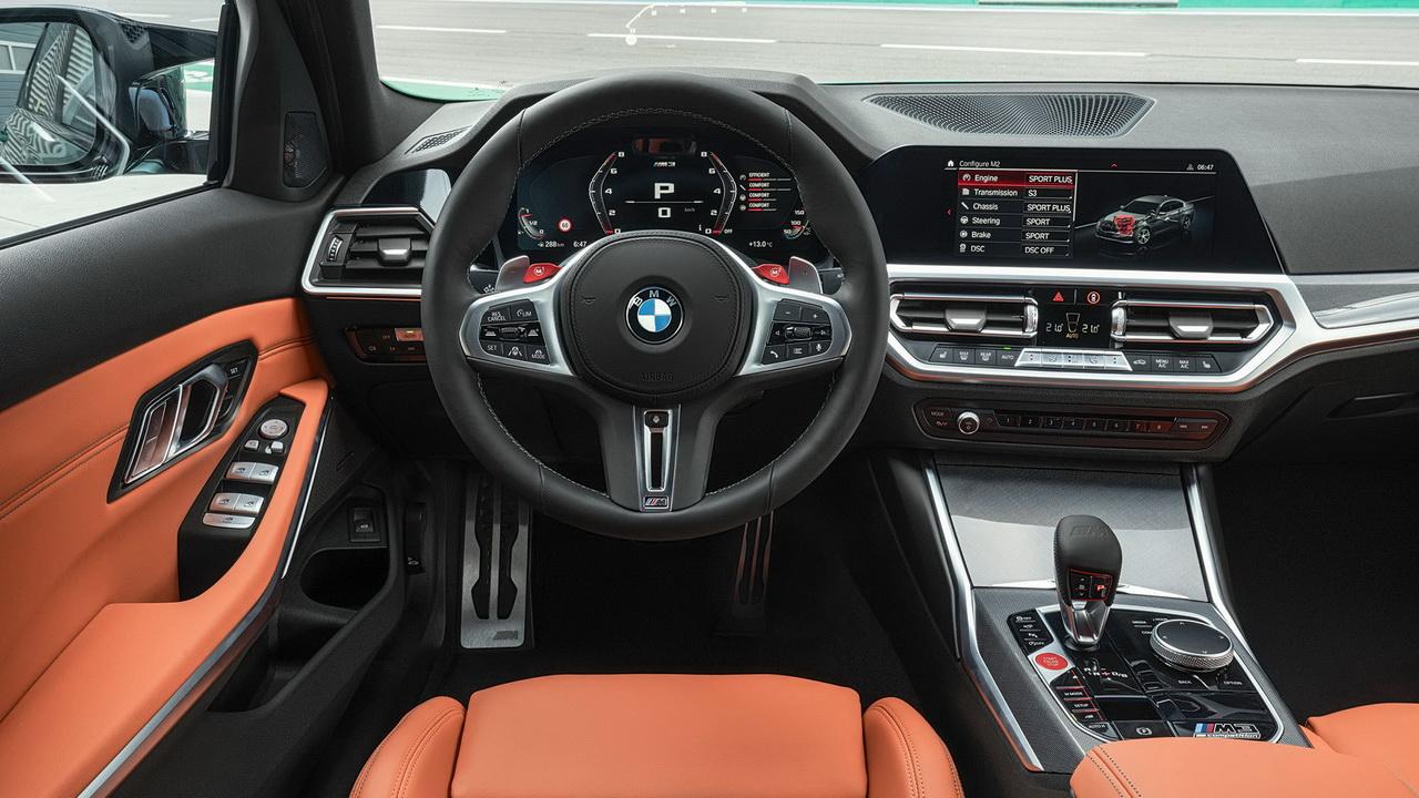 Фото салона BMW M3 Sedan G80