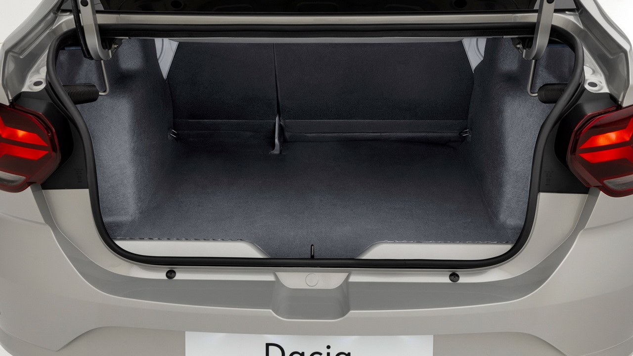 Багажник нового Логана