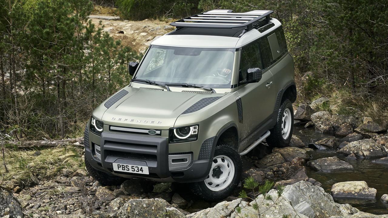 land rover defender 2021: фото и цена новой модели
