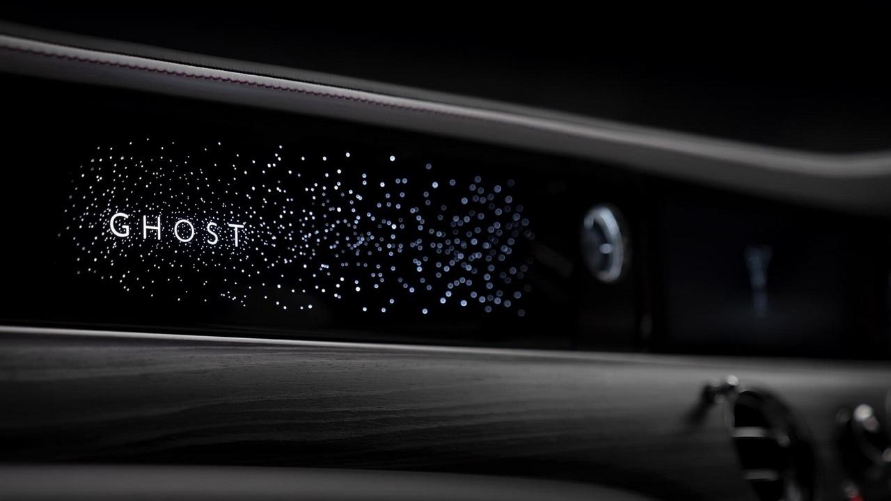 Подсветка передней панели с эффектом звездного неба