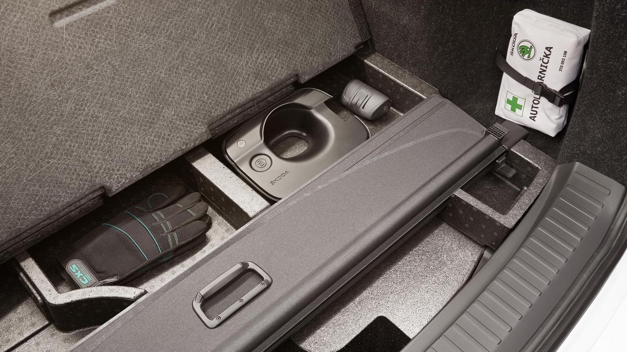 Отделения в багажнике