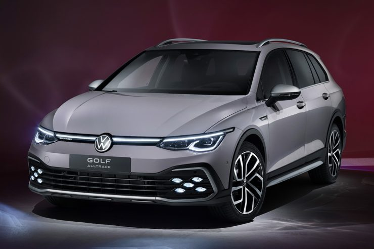 Универсалы Volkswagen Golf Variant/Alltrack 2021: фото и оснащение моделей