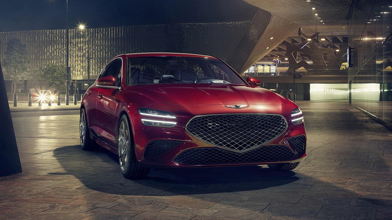 Новый дизайн кузова седана G70