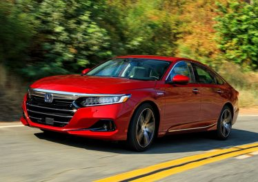 Honda Accord 2021: плановое обновление модели