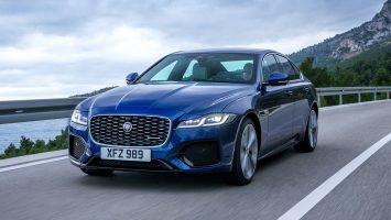 Jaguar XF 2021: новый интерьер и сокращенная линейка моторов