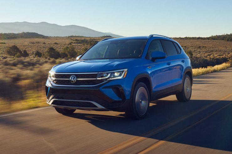 Volkswagen Taos 2021: новый кроссовер для Америки