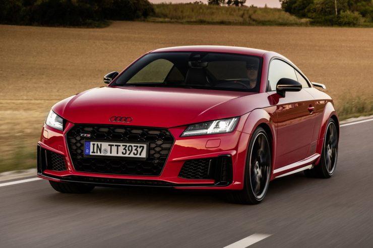 Audi TTS competition plus 2021: новый 320-сильный Ауди TTS