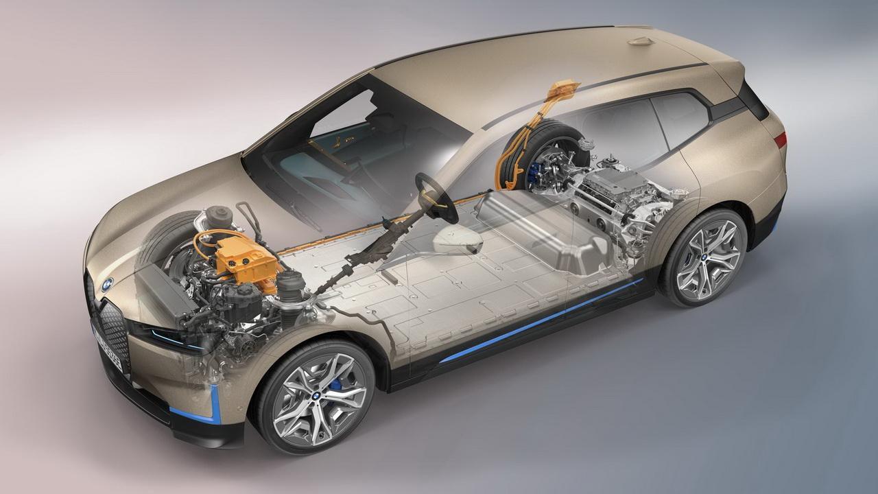 Техника BMW iX 2022