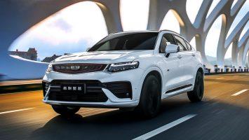 Geely Tugella 2021: новый купе-кроссовер для России