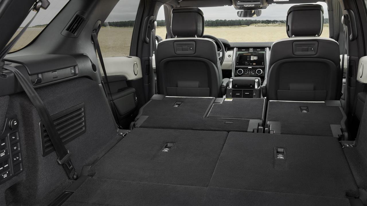 Багажник нового Дискавери 5 рестайлинг