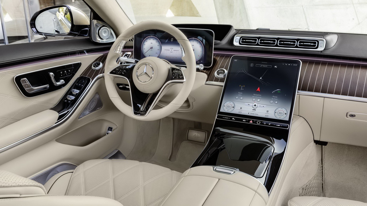Фото салона Mercedes-Maybach S-Class 2021