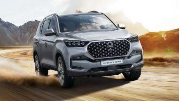 SsangYong Rexton 2021: новый дизайн и модернизированный дизель