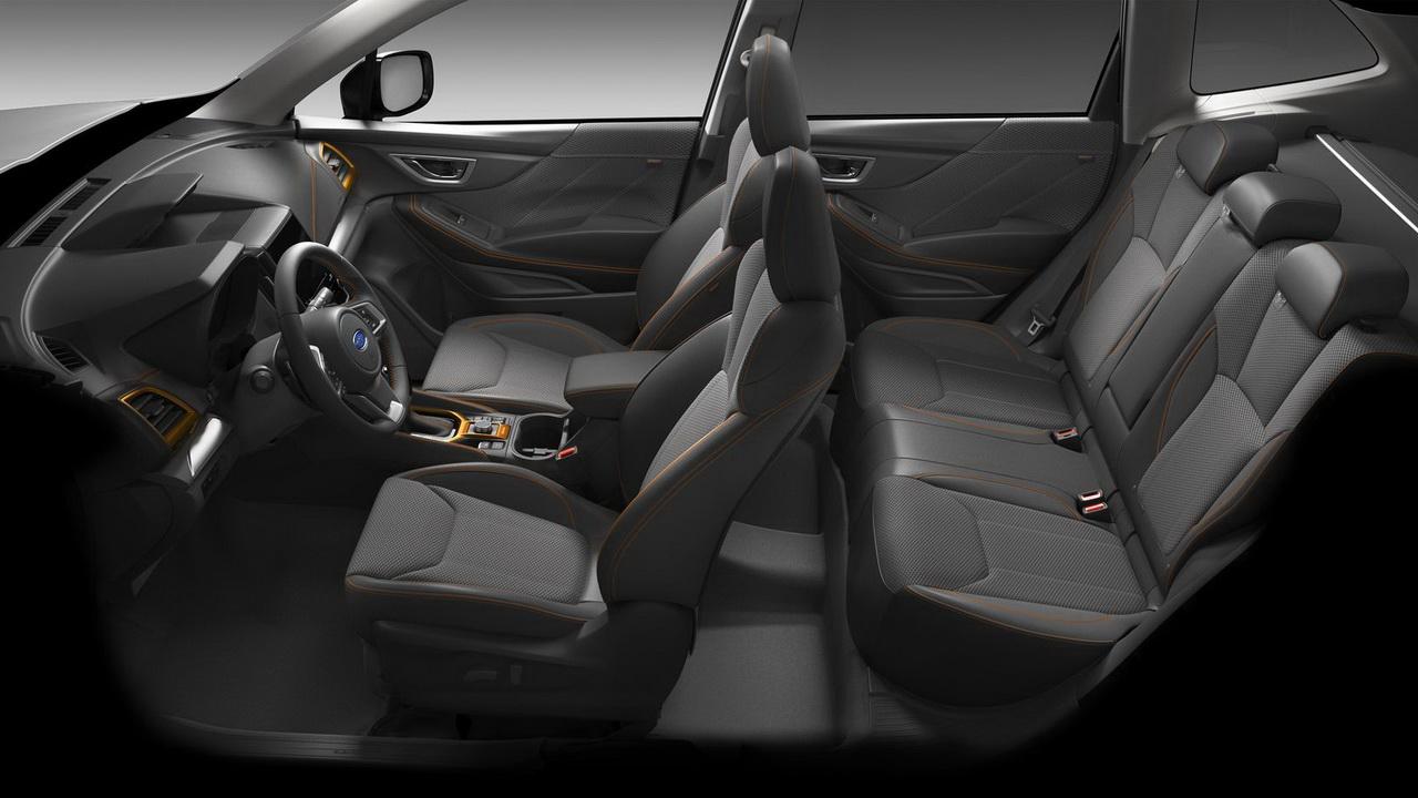 Салон Subaru Forester Sport