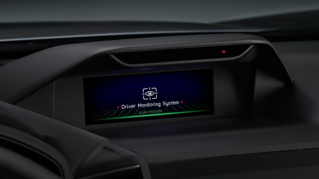 Работа системы Driver Monitoring фото 1