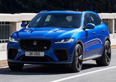 Jaguar F-Pace SVR 2021: плюс 20 Нм тяги и разгон за четыре секунды
