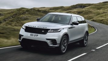 Range Rover Velar 2021: фото и цена модели в России