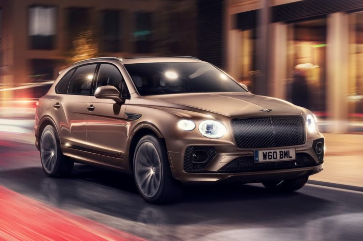 Bentley Bentayga Hybrid 2021 – гибридная версия Бентайги