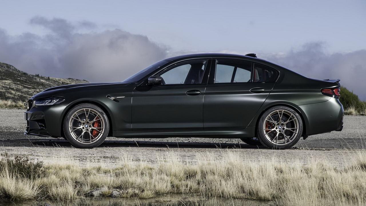 Профиль BMW M5 CS 2021