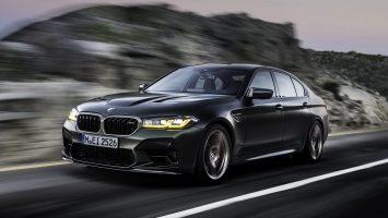 BMW M5 CS 2021: рекордсмен по мощности среди М-моделей
