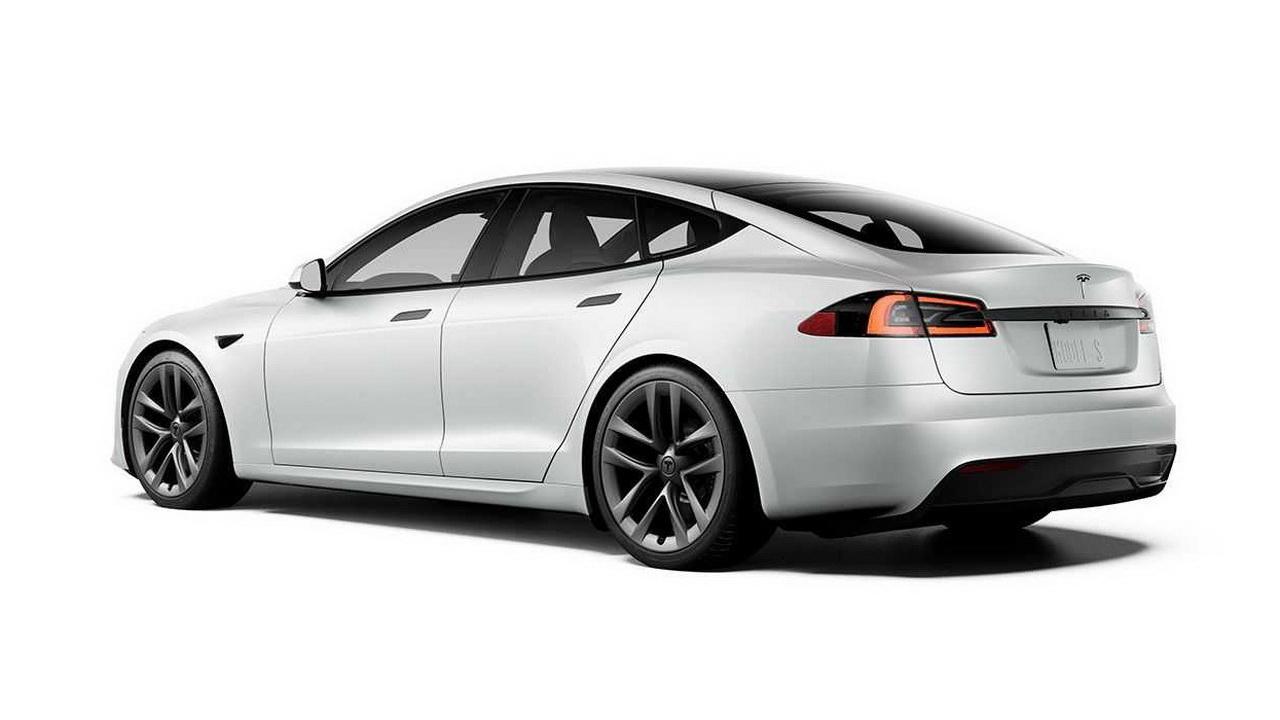 Дизайн кормы новой Model S