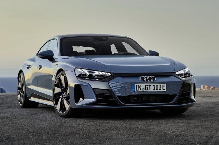 Audi e-tron GT 2021: новый электрический спортседан Ауди