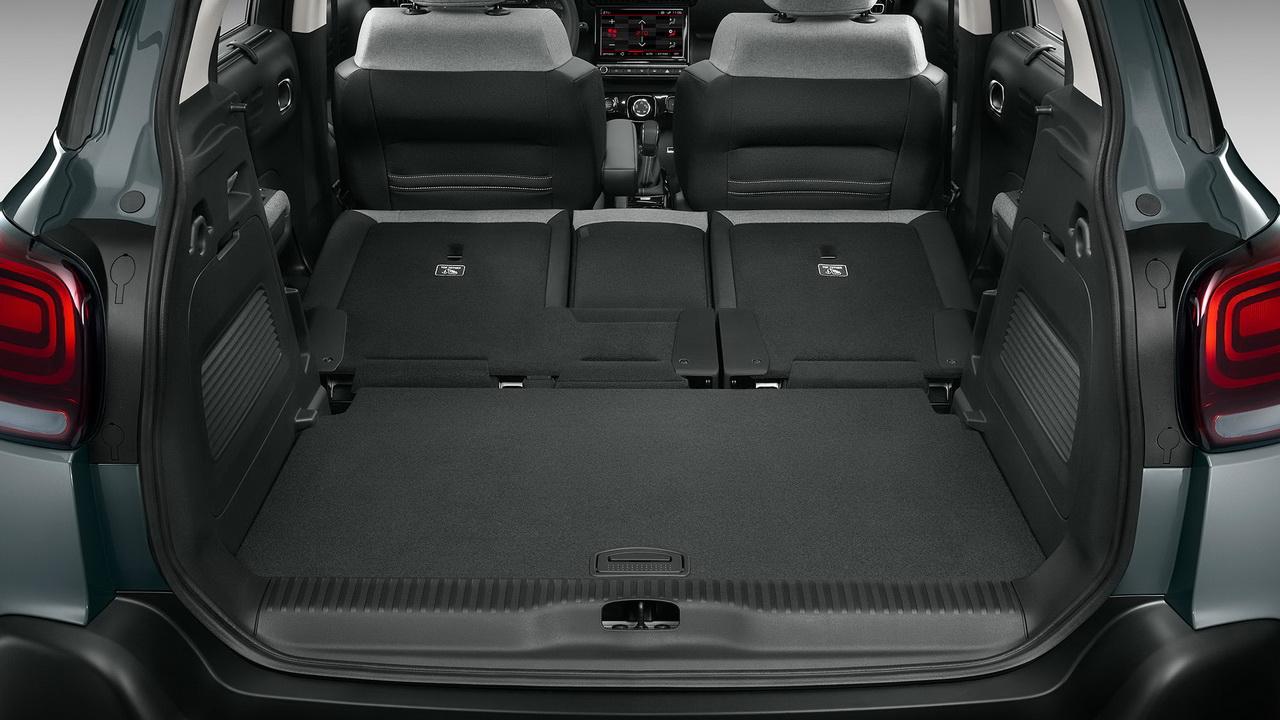 Багажник нового Citroen C3 Aircross